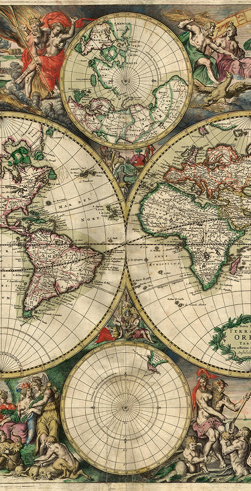 How designers shape the world: a short essay on cartography, design on